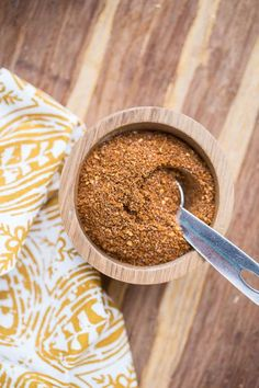 This simple seasoning for sweet potato fries can be used as a dry rub for grilled meat, too!