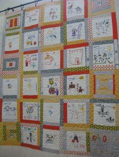 teacher quilt ideas