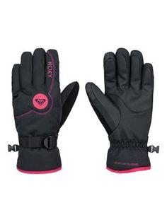 roxy, Jetty Solid - Gloves, Anthracite (kvj0)