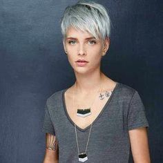 70 Best Short Pixie Cut Hairstyles 2019 - Cute Pixie Haircuts for Women - - Short . - 70 Best Short Pixie Cut Hairstyles 2019 – Cute Pixie Haircuts for Women – – Short Hairstyles – Hairstyles 2019 - Short Hairstyles For Thick Hair, Haircut For Thick Hair, Pixie Hairstyles, Short Hair Cuts, Short Hair Styles, Hairstyles Videos, Unique Hairstyles, Pretty Hairstyles, Cute Pixie Haircuts