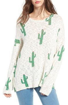 cactus pullover - need!