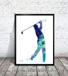 Golf, Aquarell Malerei Grafik, Golf, Aquarell, Druck, Sport Kunst, sport print, Sport-Aquarell, Gemälde, Malerei Golf sport Kaufen Sie zwei Get one FREE! Sonderangebot! Kaufen Sie zwei drucken und erhalten Sie eine kostenlose (der gleichen Größe). Senden Sie mir die Links der 3