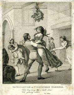 1796 ca.  The Mistletoe, or, Christmas Gambols.                   BritishMuseum.org