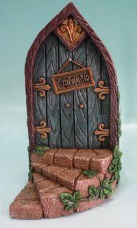 Hi-Line Gift Ltd. Fairy Mini Garden Door with Welcome Sign