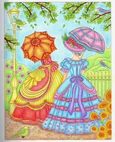 Coloured By Jane Wale. From Relax With art Bygones