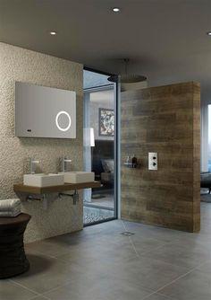 #Modern #Bathroom remodel - www.remodelworks.com