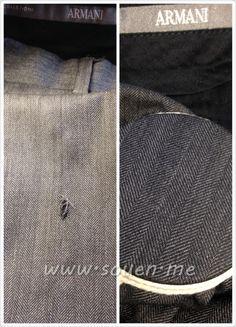 IMG4179 souen stoppage mending pantalon Armani