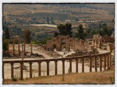 Jerash – the greatest Roman ruins you've never heard of. | The Amateur Adventurer Over looking the Forum and Cardo