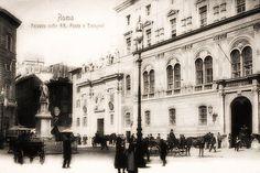 #Roma, 18 Marzo 1879, #Piazza #SanSilvestro viene inaugurato il #Palazzo delle Poste