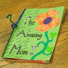 """The Amazing Mom"" Book of Poems - Mother's Day 2014 Crafts Mothers Day Book, Mothers Day Crafts For Kids, Diy Mothers Day Gifts, Fathers Day Crafts, Mothers Day Cards, Grandparent Gifts, Diy Mother's Day Crafts, Mother's Day Diy, Book Crafts"