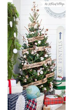 The Lettered Cottage Christmas Tree