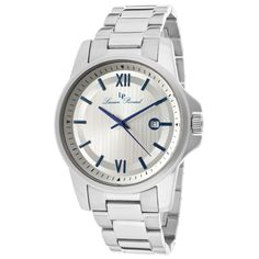 Lucien Piccard Men's Breithorn Round Watch in Silver - Beyond the Rack