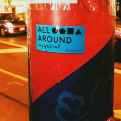 Spotted on by Bloor & Christie!  Each package comes with some of our bright blue All Around Apparel stickers for you to go ham wherever you see fit! Shop the Original collection by clicking the link in our profile! #allaroundapparel -- : allaroundapparel.com #streetwear #toronto #urban #streetstyle #mensfashion #womensfashion