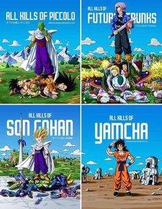 DBZ Kills... poor Yamcha