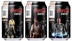 Canettes Coca Zéro Septembre 2013