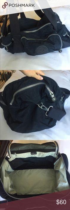 Navy Blue Kipling Duffel Bag Great condition. Lightly used. Kipling Bags Travel Bags