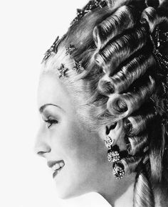 Norma Shearer forMarie Antoinette (1938)this particular wig weighed around twenty five pounds.
