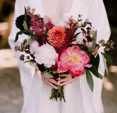 Though they had all sorts of wild ideas when it came to dreaming up the details for their big day, Evangeline + Evan ended up throwing a gorgeous, romantic and