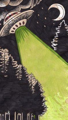 – trippy alien / space lockscreens, si vous enregistrez by Charcharmeow Pop Art Wallpaper, Trippy Wallpaper, Tumblr Wallpaper, Wallpaper Backgrounds, Alien Iphone Wallpaper, Trippy Alien, Alien Art, Alien Alien, Alien Aesthetic