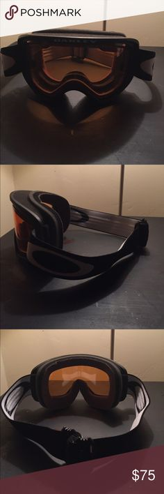 Oakley ski or snowboard goggles Brand new pair of Oakley ski or snowboard goggles. Never worn just accidentally ordered 2 pairs. Super comfortable and cool. Oakley Other