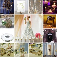 Princess and the Frog Themed Wedding Ideas - Read all about it on:  Cloud Nove Events: January 2012