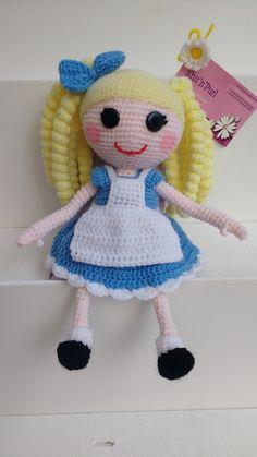 Alice doll for Emily's birthday.....