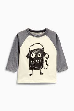 Buy Scribble Monster Long Sleeve T-Shirt (3mths-6yrs) online today at Next: United States of America