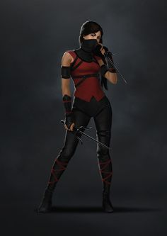 Anime Costume Was impressed after seeing how one of my favorite characters - Electra - was presented in the Daredevil Netflix show. It inspired me to do some designs for fun and ultimately gave me an appreciation for her final costume in the show. Daredevil Costume, Daredevil Elektra, Daredevil Series, Marvel Comics Superheroes, Marvel Characters, Marvel Heroes, Marvel Movies, Anita Blake, Character Illustration