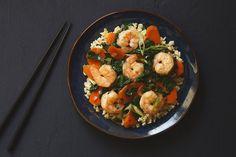Garlic Shrimp and Kale Stir-Fry