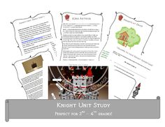 Is your child learning about the Medieval times? Hop on over to download my free Knight Unit Study to use in your learning adventure.