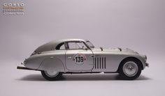 BMW 328 Touring Coupe Superleggera winner of the 1940 Mille Miglia ...