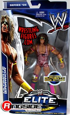 Ultimate Warrior - WWE Elite 26 | Ringside Collectibles