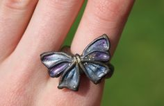 #ring #butterfly #polymerclay