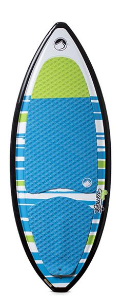 """Performance and durability wrapped up in one board… that is the DOUM SKIM. This board is built and tested by Dominic Legace, a guy that spends more time wakesurfing than anyone. If you want to take your riding to the next level, this is the board. Tip and tail channels give you control whichever way you're going and crisp rails keeps it tracking cleanly. You will get done riding this board and everyone in the boat will be giving you """"High 5's""""."""