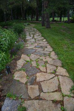 Rocks And Stones Walkway Design Ideas 74