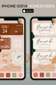 Brown Aesthetic, Aesthetic Vintage, Phone Organization, Organizing, Iphone Wallpapers, Cute Wallpapers, Iphone Life Hacks, Store 3, Iphone App Design