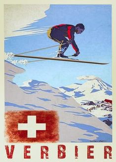 Find amazing Vintage Ski posters to adorn your walls today at Zazzle. Browse our collection of designs or simply create your very own poster now! Ski Vintage, Vintage Ski Posters, Vintage Winter, La Provence France, Evian Les Bains, Fürstentum Liechtenstein, Retro Illustration, Video Games For Kids, Art Graphique