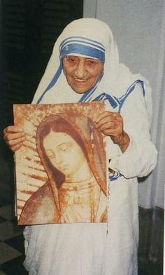 """Quote: """"Joy is a net of love by which we catch souls."""" - Blessed Teresa of Calcutta"""