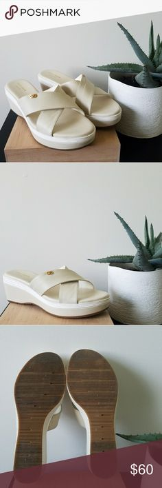 I just added this listing on Poshmark: Cole Haan Grand II Wedge Sandal. #shopmycloset #poshmark #fashion #shopping #style #forsale #Cole Haan #Shoes
