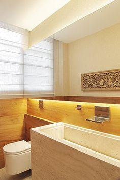 Apartamento em Copacabana / Paola Ribeiro #lavabo