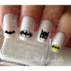 72 Best Batman Nail Art Images On Pinterest Superhero Nails
