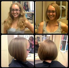 Enzo & Anna's Hair World: August Before & After