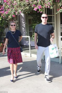 Brunch O'Clock:Reese Witherspoon and her talent agent husband Jim Toth looked as loved up...