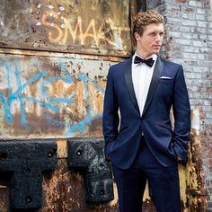 Look of the Week - featuring the Royal Blue Tuxedo. http://www.blacklapel.com/lookoftheweek/06-19-2014