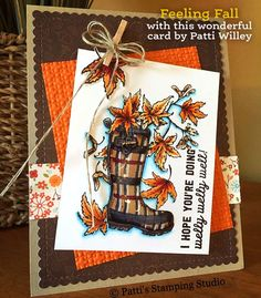 Feeling Fall clear stamp set in stock!