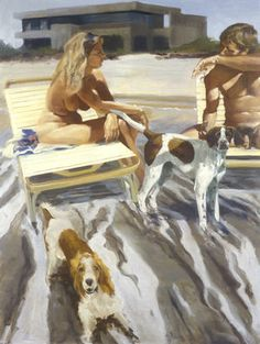 Eric Fischl | A View from the Shallows, 1993
