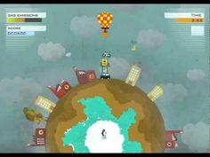 Global Warming : es un videojuego ecológico realizado en flash y gratuito desarrollado por la empresa Powerful Robot para combatir el calentamiento global. Nuestro objetivo principalmente es reducir las emisiones de gas