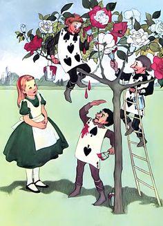 Marjorie Torrey «Алиса в стране чудес»  Иллюстратор Marjorie Torrey  Автор Lewis Carroll  Сказка «Алиса в стране чудес»  Страна США  Год издания 1955  Издательство Random House