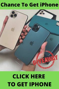 How to get a free iPhone 11 from apple? Get a free 11 . Get a free phone upgrade with this Right now you can enter for the chance to win an 11 ! Receive the brand new 11 upon sign-up! Check My Site for more info. Get Free Iphone, New Iphone, Apple Iphone, Iphone Cases, Win Phone, Free Iphone Giveaway, Free Phones, How To Apply
