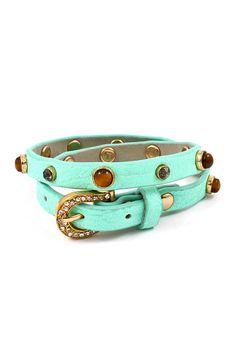 Brice Bracelet in Turquoise Mint